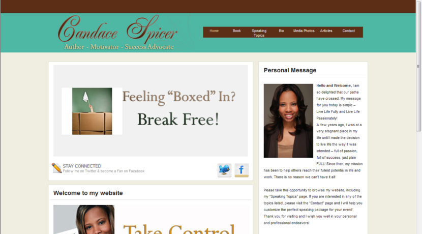 Candace Spicer Web Design