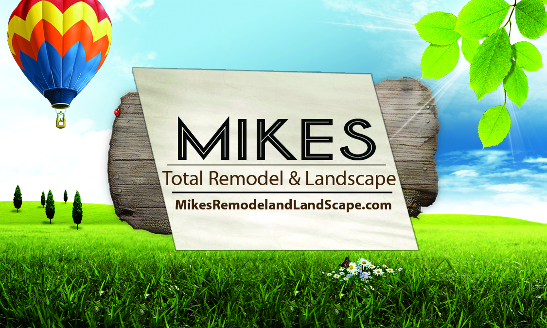 MIKES LAWN CARE & REMODELING SERVICE – BUSINESS CARD DESIGN